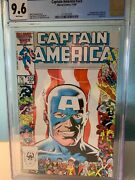 Captain America 323 Cgc Nm+ 9.6 1st Appearance John Walker White Pages