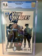 Young Avengers 6 Cgc 9.6 2005 White Pages