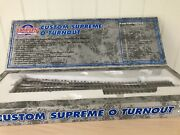 Atlas 7025 O Scale 2-rail 5 Right Hand Turnout/switch