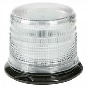 Grote 78070 Dual Color Led Beacon - Short Lens Amber/green