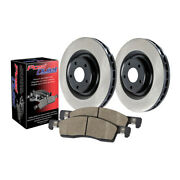 Centric 909.35024 Disc Brake Pad And Rotor Kit Front