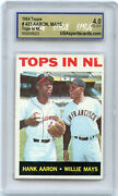 1964 Topps Hank Aaron And Willie Mays 423 Tops In Nl 4.0 Vg-ex