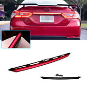 For 2018-2020 Toyota Camry Rear Trunk Tail Light Led W/sequntial Signal Fog Lamp