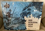 J. K. Straus 229 Wood Jigsaw Puzzle 1000 Pc Andldquothe Squireandrsquos Pairandrdquo Hunting Dogs