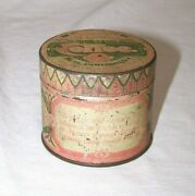 Vintage Chase And Sanbornand039s High Grade Coffee Sample Tin Pink And Green 2 X 2 1/2