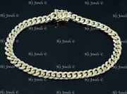 Real 14k Yellow Gold Solid Curb Link Bracelet 24.10 Grams 12380 H3jewels