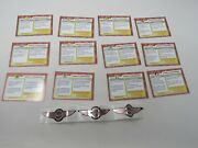 12 Wdw Park Giveaway Cards Mark Vi Monorail Transportation And 3 Decal Stickers
