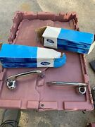 Nos 1965-1966 1969-1970 Ford Mustang Shelby Outside Door Handles Pair