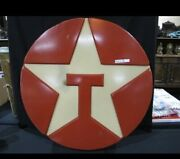 """Awesome Mid Century Texaco Advertising Lighted Sign 33"""" D"""