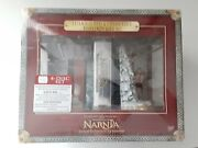 Chronicles Of Narnia Extended Dvd And Collectible Bookends Gift Set New Disney