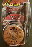 Zink Calls Wicked Series Brazillian Cherry Crystal Friction Turkey Call Free Dvd