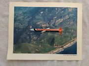 Vintage General Dynamics Tomahawk Cruise Missile In Flight Navy Poster