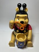 Rare Vintage Winnie The Pooh Bumble Bee Bubble Blower Machine Tested Works