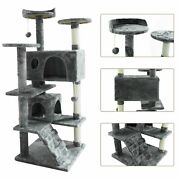 52 Cat Tree Tower Activity Center Large Playing House Furniture Condo For Rest