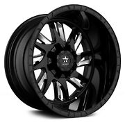 Rbp 69r Swat Wheels 24x14 -76 8x170 129 Black Rims Set Of 4