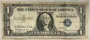 1957 1 One Dollar Silver Certificate Great Value