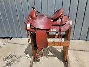 Ss3 - Brand New 17 Billy Cook Draft Horse Trail Saddle New With Tags