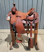 Ss4 - Brand New 17.5 Billy Cook Panhandle Rancher Saddle New With Tags
