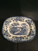 Royal Staffordshire Tonquin Pattern By Clarice Cliff Serving Platter
