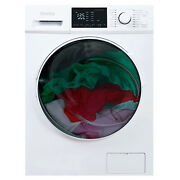 Danby 2.7 Cu. Ft. All-in-one Ventless Washer Dryer Combo, White Open Box