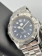 Tag Heuer 2000 Classic Date Swiss Automatic 38mm Blue Dial Wk2117 Steel 200m