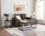 Kings Brand Furniture - Konos 3-piece Coffee Table And 2 End Tables Occasional Set