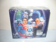 Upper Deck Superman Man Of Steel Trading Card Game Sealed -1st Edition Box