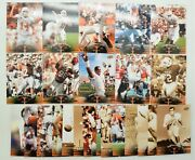 24 Different University Of Texas Football Players Upper Deck Playing Cards 2011