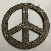 Pottery Barn World Peace Sign 7 Ornaments Set Of 10