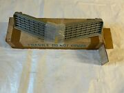 1980 1981 Nos Silver Camaro Grill New Old Stock Chevy Grille Rs Ss Z28 Gm