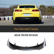 For Chevrolet Camaro Coupe 16up Rear Trunk Spoier Sport Wing Carbon Customized