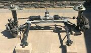Porsche 911 Complete Front Suspension.1980's A-arms Steering Shocks Hub Calipers