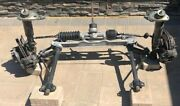 Porsche 911 Complete Front Suspension.1980and039s A-arms Steering Shocks Hub Calipers