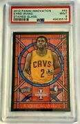 2012 Innovation Prizm Stained Glass Kyrie Irving Rookie Rc Psa 9 Mint - Pop 3