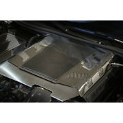 Perforated Engine Cover W/carbon Fiber Center Plate For 15-16 Chevy Corvette Z06