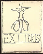 Francesco Clemente, Untitled Bookplates, 1991 | Signed Lithographs