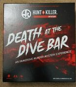 Hunt A Killer Death At The Dive Bar, Immersive Murder Mystery Game, Ages 14+