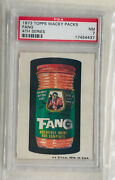 1973 Wacky Packages - Original 4th Series Fang Topps® - Psa 7