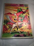 Vtg She-ra Princess Of Power Golden Frame Tray Puzzle He-man Masters Of Universe