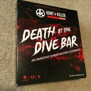 Hunt A Killer Death At The Dive Bar Used-excellent Condition