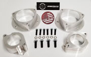 [sr] Billet 3 Lift Kit Spacers For 00-04 Subaru Legacy / Outback And 03-06 Baja