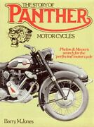The Story Of Panther Motor Cycles Phelon And Moore... By Barry M.jones Hardback