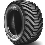4 New Bkt Flotation 648t 550/45-22.5 Load 20 Ply Tractor Tires