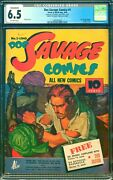 Doc Savage Comics 1 Cgc 6.5 Off-white Pages - Jon Berk Collection - Conserved