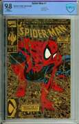 Spider-man 1 Cbcs 9.8 White Pages // Gold Variant 1990