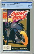 Ghost Rider 1 Cbcs 9.6 Nm+ White Pgs 5/90 1st App Danny Ketch As Ghost Rider