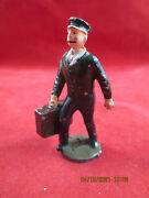 Johillco John Hill And Co Vintage Lead Porter With Bag Excellent Cond Railroad