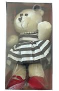 Starbucks Holiday Bearista Bear Alice And Olivia By Stacey Bendet 2013 New In Box