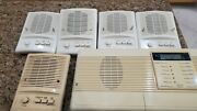 Nutone Ima-3303 Intercom Master Station Im-3303 Biscuit W/mount And 5 Stations