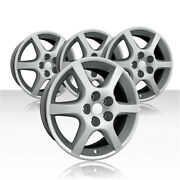 Revolve 17x7 Silver Wheel For 2002-2004 Nissan Altima Set Of 4